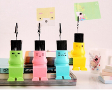 More Expression Carton Korean Style Message Clip Memo Folder Notes Folder Photo Clip Design with Keybrush