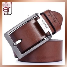 2015 New high quality wholesale buckle fashion genuine leather men belt manufacturer