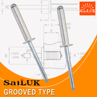 Promotional popular aluminum blind rivets with dome head