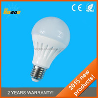 china factory price dimmable 12v dc A60 e27 5w 220 degree led bulb