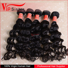 Top Grade 7A High Quality virgin brazilian hair No chemical processed , completely tangle-free deep wave grade 7a virgin hair