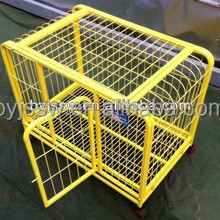 Made in China factory direct sale foldable large steel dog cage/metal dog cage