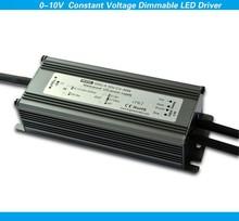 long lifespan single output 24v dc IP40 30w pwm 0-10v constant voltage led controller