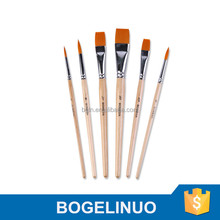 6 Pcs Watercolor Artist Paint Brush Set