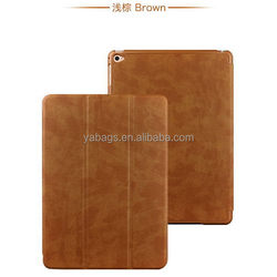Top quality useful top pu leather case for ipad mini