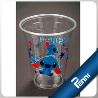7oz Plastic Drink Cups With Lids And Straws