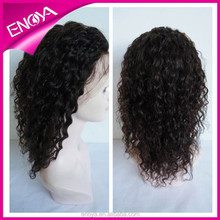 Costume thick human hair lace front wig for wig making