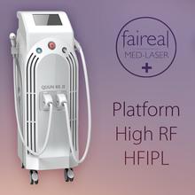 Skin Tightening RF + ipl Elight skin Treatment For Hair Reduction / Skin Lifting