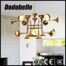 modern industrial horn shape creative artistic style vintage pendant lamp/lighting