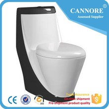 Colorfull Siphon One Piece S Trap Bathroom Ceramic Toilet Wc
