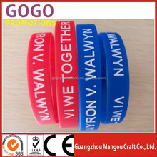 promotional souvenir popular silicone hand bands for various colors, OEM/ODM orders are accepted personalized silicone hand band