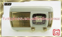 New zinc alloy Retro Radio alarm decorative Clock