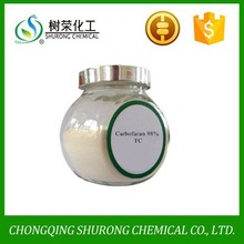 pesticide insecticide Carbofuran 98% TC, 3%GR