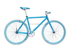 colorful 700C hi-ten steel single speed fixed gear bike for girl
