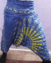beautiful look printed aladdin harem pants boho hippie pants gypsy yoga pants Jaipur Printed rayon fabric trousers wholesale