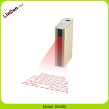 wireless Laser keypad power bank Virtual Keyboard 5200mAh china electronics market Bluetooth Keyboard google . com