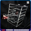 TSD-A484 clear acrylic cosmetic & makeup organizer drawer