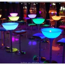 bar furniture lounge LED table very good price