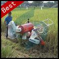 Mini máquina de la cosecha de arroz paddy pequeña, máquina de corte cosecha de arroz