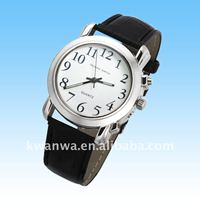 2014 talking wrist watch for blind people, coming with daily alarm function