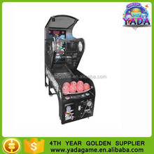 Cheap coin operated electric kids basketball game for game center