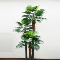 2015 new hot sale wholesale indoor & outdoor decorative large artificial palm tree artificial plant
