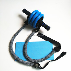 Small Fitness Roller Abdominal Exercise Equipment 3 Wheels