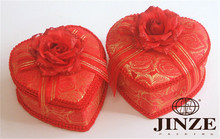 Wholesale Exquisite Delicate glitter favor boxes wedding