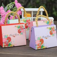 European creative joyful candy paper gift bag, paper bag price, paper bag making machine