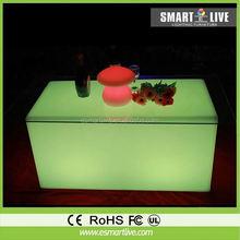 portable led lighting table small lighting table leisure coffee table