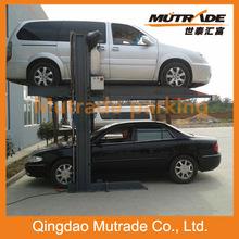 vertical mechanical car parking double post car park system
