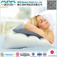 Comfortable flocking inflatable wedge pillow, inflatable bed wedge