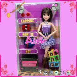 Big Eyed Fashion Doll Toy Hot Sell Baby Plastic Doll