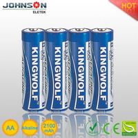 2.4v aa size battery aa alkaline