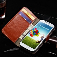2014 Trending Hot Products Wallet style Cell Phone for Samsung Galaxy S4 Case