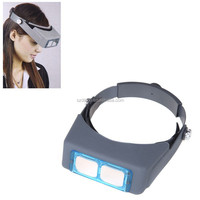 DIHAO Tech led headlamp magnifier/magnifying head light/head wearing magnifier