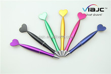 LOVE SHAPE plastic ballpoint pen in proper price made in china can be gift