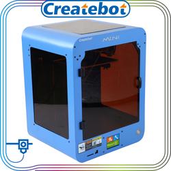 Createbot 3d printer accessories 0.4mm MK8 3d printer nozzle blue color MINI digital phone case 3d printer