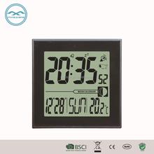 YD8220C Desk Modern Digital Electronic Clock for Promotion