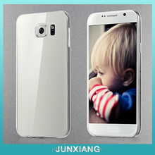 Premium full protective clear crystal TPU phone case for samsung galaxy S6