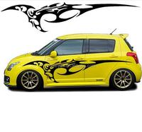 hanjun Car Transformer Sticker 3D ABS Chorome Autobots and Decepticons S/L/M Size Auto