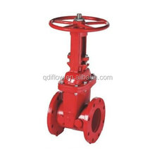 awwa c515 200psi/300psi os&y grooved end resilient seat gate valve