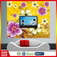 Low Cost Oem Service Full Size Wallpapers Flowers For Sitting Room