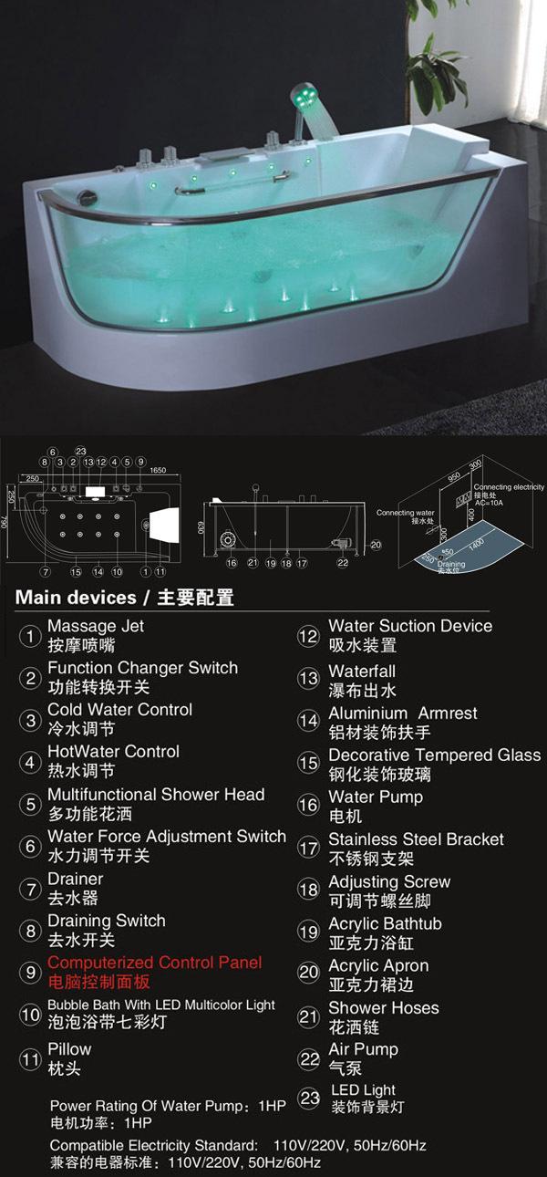 Wooden bathtub/small bathtub/dog bathtubs HS-B307