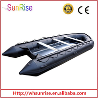 Sport PVC Inflatable Big Boat For 8 Persons