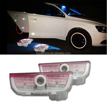 China LED auto light factory, For CC 09-12 LED car door logo projector courtesy light,car welcome logo light