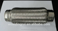 Stainless steel or Aluminized Steel Metal Corrugated Bellows for expansion joint