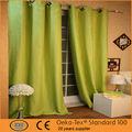 de alta calidad clásico balckout cortina verde