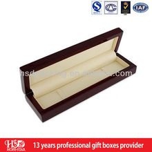 Wholaesale Custom wooden fountain pen box packaging, wooden gift box for pen