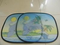 novelty car foldable car side windshield sunshade